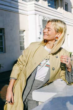 We are teaching you how to style khaki since it is apparently the new denim.