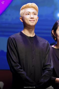 Bangtan Sonyeondan's leader, Kim Namjoon! those illegal dimples will kill me:(( <33