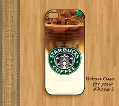 Starbucks Coffee iPhone 5 Case $17.00, via Etsy || For the girl who's always on the go...