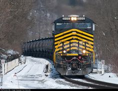 RailPictures.Net Photo: NS 8100 Norfolk Southern GE ES44AC at Apollo, Pennsylvania by Tom Granville