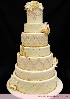 Spring Themed Wedding Cakes » Pink Cake Box Custom Cakes & more page 2