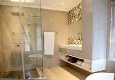 162 on Sunbird - Crontech Consulting Bathroom Vanity Designs, Modern Bathroom, Property Development, Design Development, Glass Showers, Grey Floor Tiles, Interior Architecture, Interior Design, Building Contractors