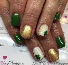 Day 76: St. Patrick's Day Nail Art - - NAILS Magazine