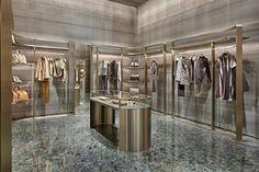 Cpp-Luxury armani shop, giorgio armani, fashion showroom, retail interior d Armani Shop, Armani Hotel, Giorgio Armani, Visual Merchandising, Fashion Showroom, Retail Interior Design, Retail Fixtures, Luxury Store, Fashion Designer