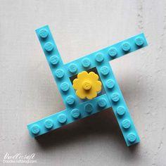Easy LEGO Fidget Spinner Toy Instructions!