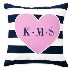 Mix N Match Monogram Pillow Cover | PBteen