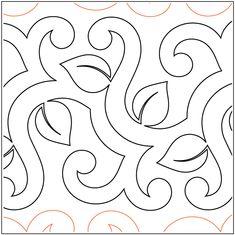 Scrolling Vine - FREE - Pantograph