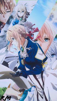 it's you violet. Anime Chibi, Anime Shojo, Chica Anime Manga, Kawaii Anime Girl, Anime Art Girl, Manga Art, Violet Evergarden Wallpaper, Cute Anime Wallpaper, Wallpaper Desktop