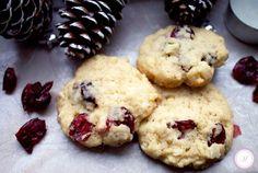 Weihnachten 2013 Schnelle Macadamia Cranberry Kekse