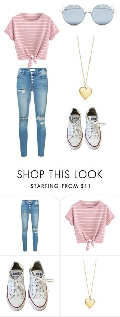 """No name#41"" by kyley-mays on Polyvore featuring Mother, Converse and For Art's Sake"