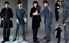 Who knew that Robert Downey Jr would make an awesome Sherlock and Tony Stark.
