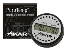 Xikar Round Digital Hygrometer *** You can find more details by visiting the image link. (This is an affiliate link and I receive a commission for the sales)