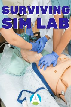 Nothing produces anxiety and dread quite like nursing school sim lab. Use these tips to not just survive sim lab, but get the most out of this valuable learning opportunity. Nursing School Motivation, Nursing School Shirts, Nursing School Scholarships, Nursing Career, Nursing Students, Nursing Classes, Ob Nursing, Medical Students, Rn School