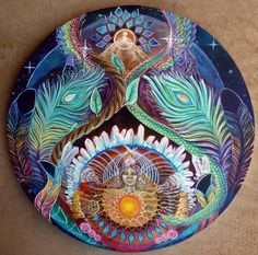 Our Ancient Mother ~ a collaboration of Morgan Mandala & Ashely Foreman