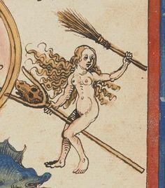 Traité d'astrologie Publication date : 1401-1500 Type : manuscript Language : allemand