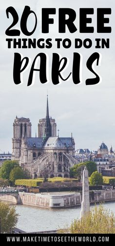 Paris can be expensive - but it doesn't have to be! Click to find out the Top 20 Free Things To Do in Paris and give your wallet a break on your next visit!