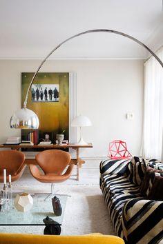 Living Room Interior, Home Interior Design, Interior Architecture, Living Room Decor, Living Spaces, Interior Decorating, Decorating Tips, Bedroom Decor, Home And Deco