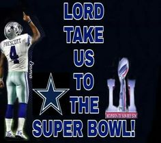Go Cowboys!!!!                                                                                                                                                                                 More