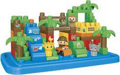 Køb Mega Bloks, Large Tube Safari