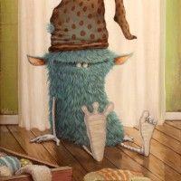 Zozoville Gallery – the artwork of Mateo Dineen and Johan Potma Monster Illustration, Children's Book Illustration, Cute Monsters, Little Monsters, Character Art, Character Design, Monster Art, Art Plastique, Creative Art