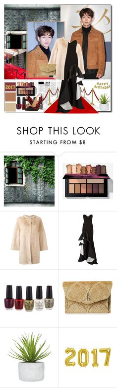 """Onew #SHINee"" by devaresti ❤ liked on Polyvore featuring Talking Tables, Liska, Jovani, Hayward and Charlotte Olympia"
