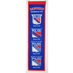 NHL New York Rang... http://www.757sc.com/products/nhl-new-york-rangers-heritage-banner-8x32-embroidered?utm_campaign=social_autopilot&utm_source=pin&utm_medium=pin #nfl #mlb #nba #nhl #ncaaa #757sc