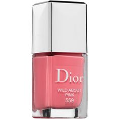 Dior Dior Vernis Gel Shine and Long Wear Nail Lacquer (€24) ❤ liked on Polyvore featuring beauty products, nail care, nail polish, beauty, makeup, glossy nail polish, shiny nail polish, christian dior nail polish and christian dior