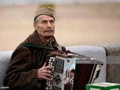 Stock Photo : Senior man playing an accordion, Kiev, Ukraine Kiev Ukraine, Apple, Stock Photos, Apple Fruit, Apples