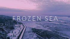 Frozen Sea Frozen, Neon Signs, Sea, The Ocean, Ocean