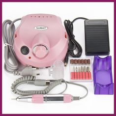 Pro 30000RPM Electric Nail Drill for nail art gel polish manicure pedicure file remove equipment machine kit tools