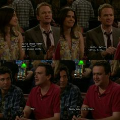 Himym, How I Met Your Mother, Change My Life, Films, Movies, Movie Quotes, True Stories, Latina, Tv Series