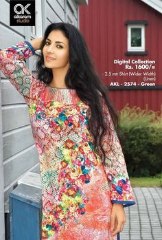 AlKaram Collections - AlKaram Winter Dresses For Girls Indian Latest Fashion, New Fashion, Luxury Fashion, Pakistani Street Style, Pakistani Designers, Indian Designer Wear, Winter Collection, Dress Brands, Designer Dresses