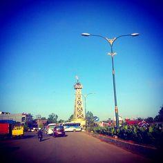 Tugu Obor at Tanjung City, Kalimantan Selatan