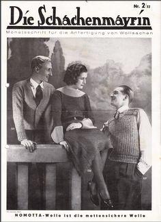 The   Vintage   Pattern   Files: 1930's Knitting & Crochet - Die Schachenmayrin 2/3...