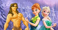 Ver El director de 'Frozen' revela que Tarzán es el hermano pequeño de Anna y Elsa