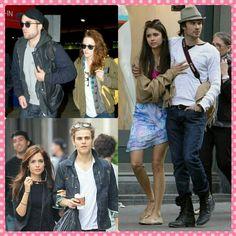 WHO'S UR FAV VAMPIRE COUPLE?#robertpattinson #kristenstewart #robsten #ninadobrev #iansomerhalder #paulwesley#torreydevitto #thevampirediaries #elenagilbert #damonsalvatore #stefansalvatore #twilight #newmoon #eclipse #breakingdawn #instalove #instacouple #fashion #fashionista #style #stylish #instafashion #instastyle #celebrity #sunglasses #accessories #hats #jacket... - Celebrity Fashion