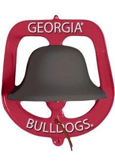 Product: University of Georgia Bulldogs Spirit Bell