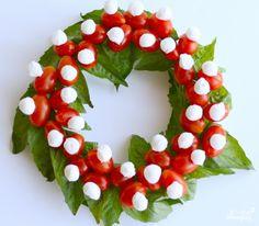 "Новогодний ""Капрезе"" - кулинарный рецепт на Повар.ру"