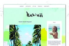 Tropical Travel Hawaii Blog + Shop