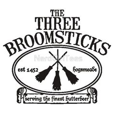 The Three Broomsticks, Harry Potter, ButterBeer by NerdGirlTees . Harry Potter Bedroom, Theme Harry Potter, Harry Potter Shirts, Harry Potter Birthday, Harry Potter Diy, Harry Potter Decal, Images Harry Potter, Harry Potter Drawings, Silhouette Cameo Projects