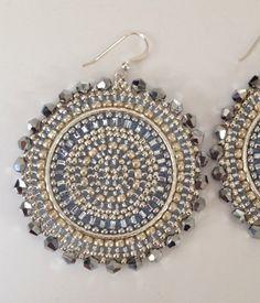 Graine de la déesse de cristal argent Perles par WorkofHeart