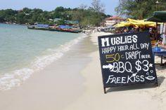 Serendipity Beach, Sihanoukville, Cambodia (check)