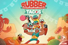 Have a bouncy adventure with Rubber Tacos! #Androi #iOS #games http://shar.es/4GyAd