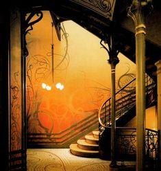 Art Nouveau Bedroom