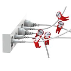 Cable organisers!