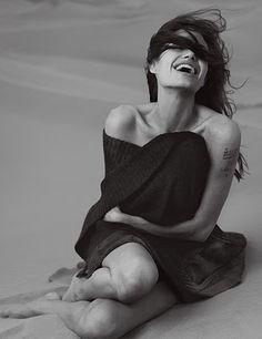 A. Jolie by Annie Leibovitz