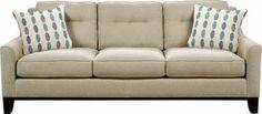 Cindy Crawford Home  Hadly Lagoon Sofa