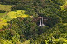 Wailua Falls by J.Wood, via Flickr