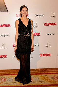 A sexy full-length sheer gown at the Top Glamour Awards in 2010. Image Source: Getty