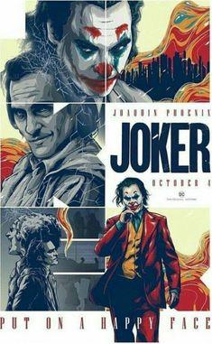 Comic Del Joker, Joker Dc, Joker And Harley Quinn, Joker Poster, Movie Poster Art, Films Cinema, Cinema Posters, Cinema Cinema, Joaquin Phoenix